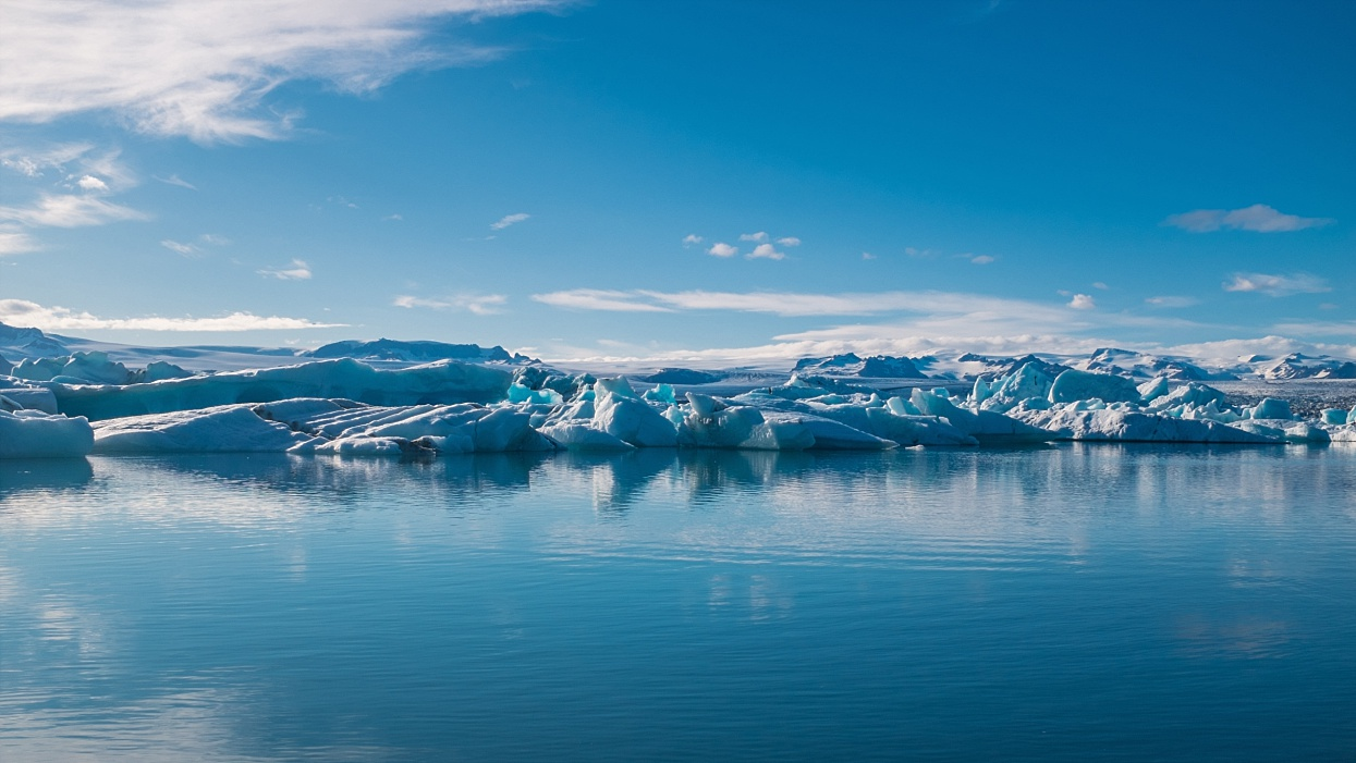 Where ice meets the ocean