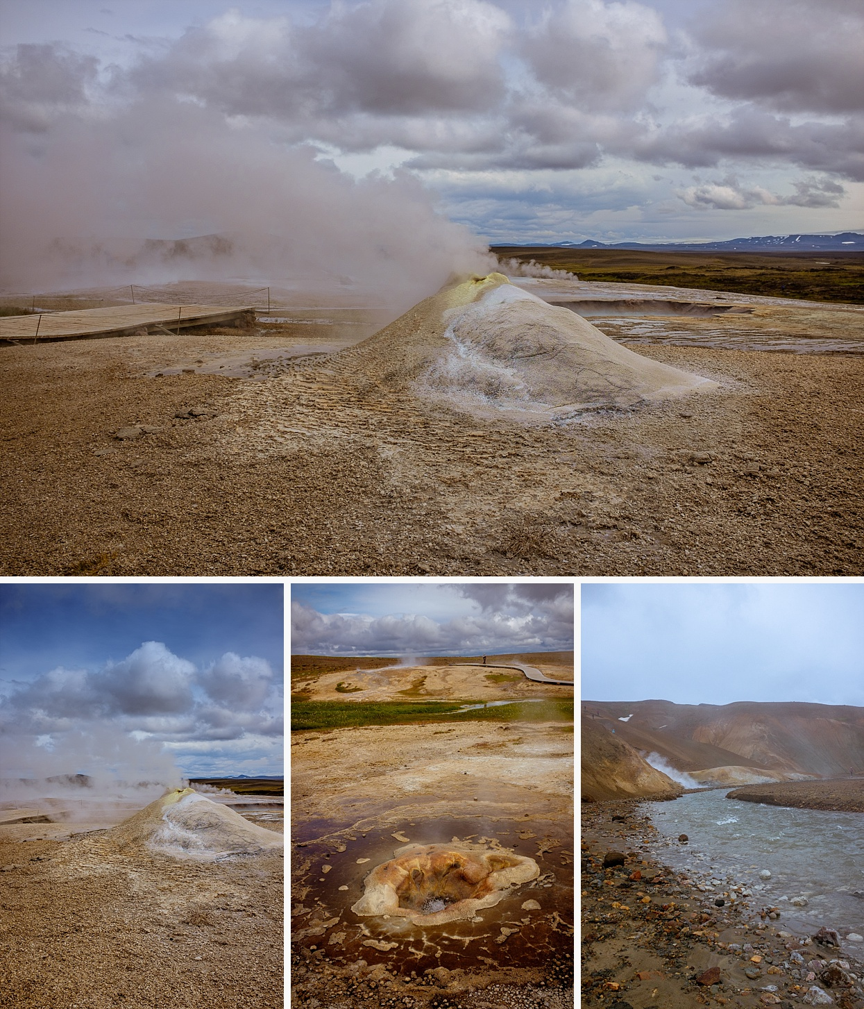 Set between two glaciers in the west highlands of Iceland Hveravellir Nature Reserve offers breathtaking scenery and great outdoor activities. Geothermal area.