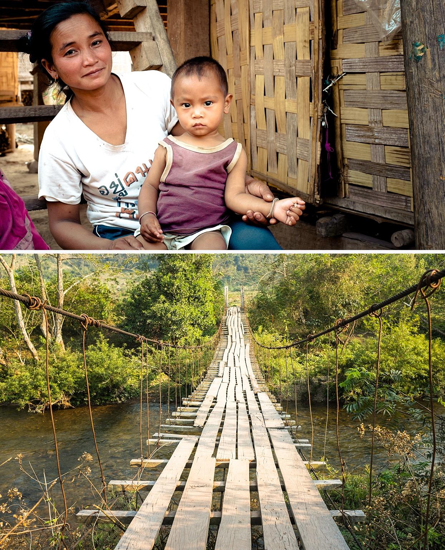 Jungle hike, Nam Ha National Park