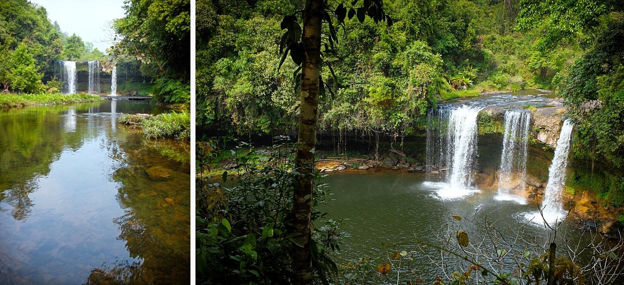 Tat Cham Pee waterfall